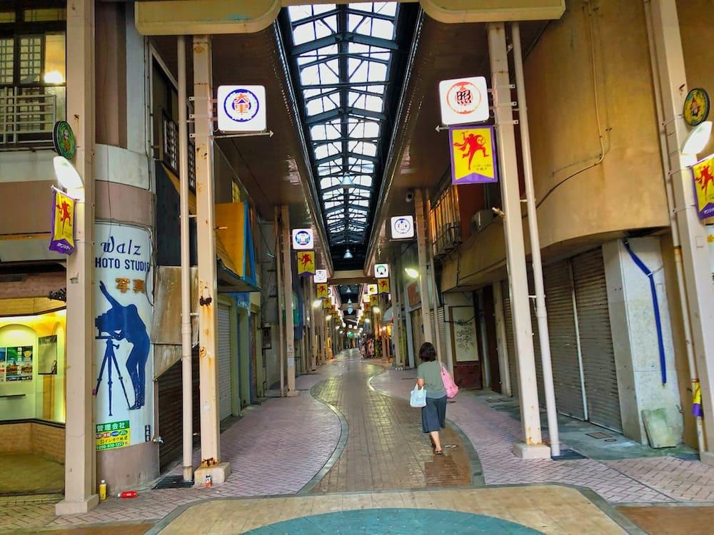 沖縄市一番街商店街