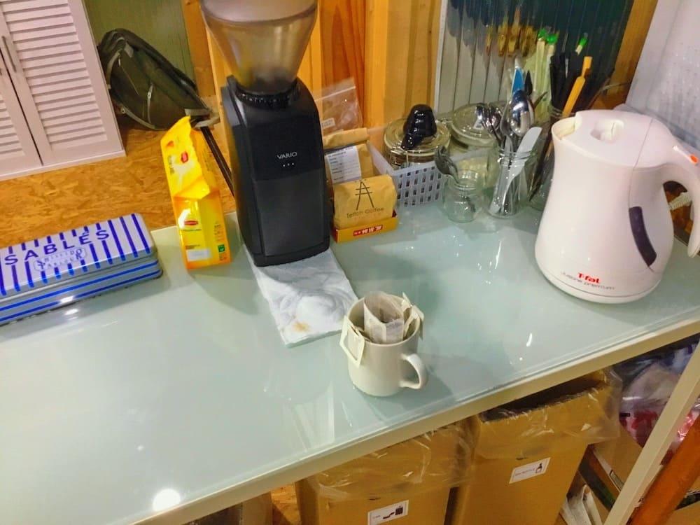 ギークハウス沖縄のコーヒー