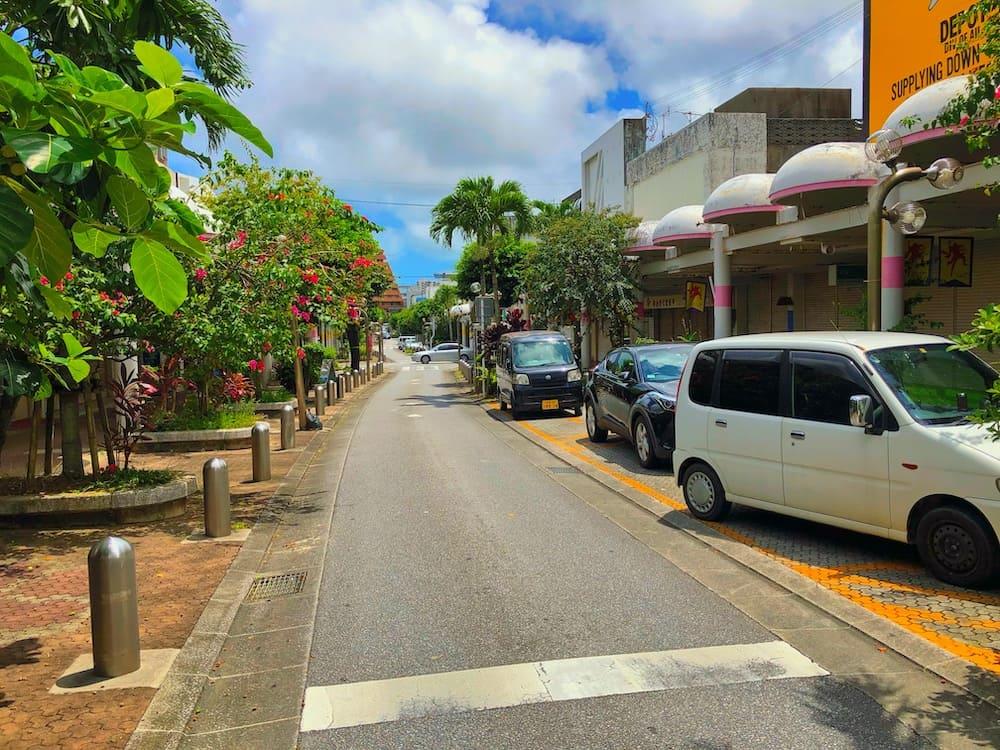 ギークハウス沖縄の周辺風景