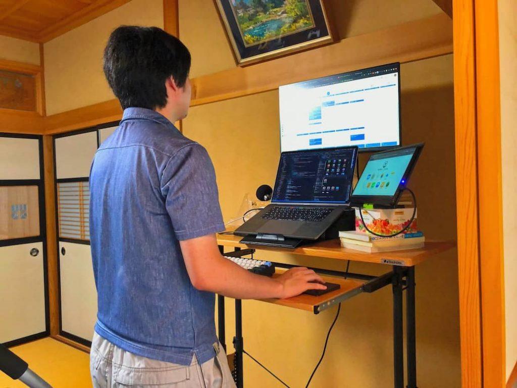 テレワーク環境 おすすめアイテム Mac トラップパッド