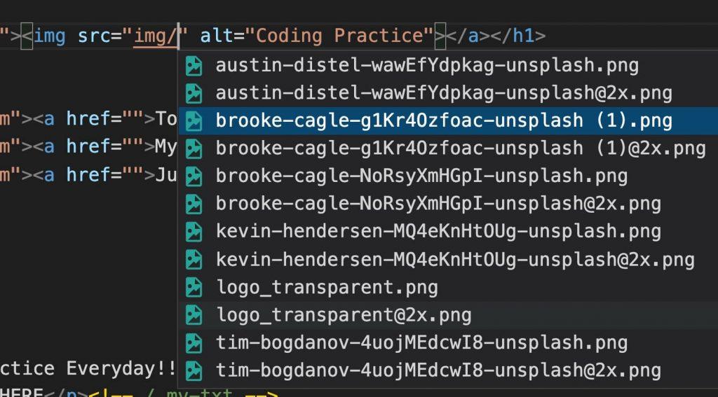 ファイルパスを補完してくれる拡張機能です。