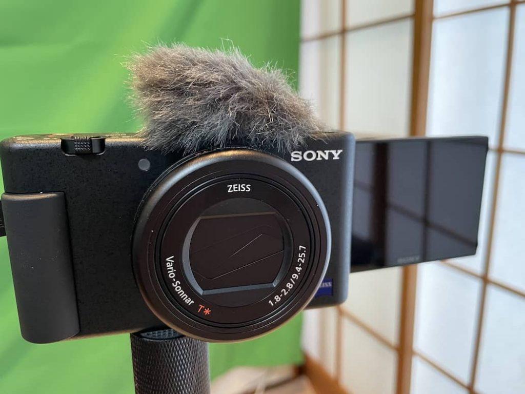 YouTubeおすすめカメラ Vlog ZV-1
